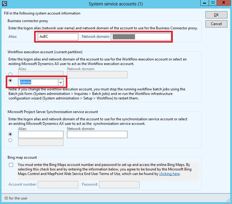 AX DB Restore Scripts #5 – Configure Service Accounts and
